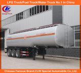 40000 litros petroleros cisterna móvil en tanque de combustible Trialer Angola