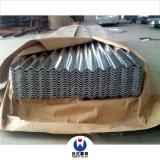 Carton ondulé galvanisé à chaud Sgch Feux de tôle de toit