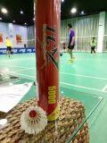 Veer de op hoog niveau Tournamnet Badmintonshuttlecock van de Gans