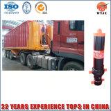 Cilindros hidráulicos do multi curso longo do estágio para o caminhão de descarga