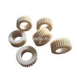 Engrenagens plásticas de nylon do processo do molde do OEM para brinquedos dos miúdos/engrenagem de sem-fim leve do dente reto do motor da C.C. do dever