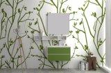 An der Wand befestigte Marmorbadezimmer-Möbel-feste Oberflächenbadezimmer-Schrank-Eitelkeit