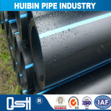 Tubo di plastica del PE di drenaggio sotterraneo dell'espulsione
