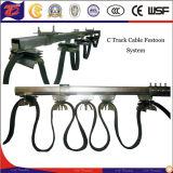 Конюшня и система фестона кабеля безопасности