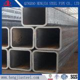Tubo quadrato saldato nero del acciaio al carbonio del tubo Ss400