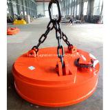 Elevatore magnetico industriale ad alta frequenza per gli scarti
