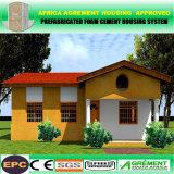 Hogar prefabricado de la casa modular prefabricada con la tarjeta del compuesto del cemento de la espuma