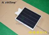 Venta caliente Infraed IP65 Sensor de movimiento de la luz de calle solar integrada