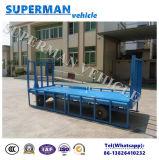 3 Tonnen Dienstaktivitäts-Leitschiene-Flachbettschlußteil-Ladung-volle Schlussteil-für Gepäck