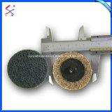 ステンレス鋼の処置のためのNon-Woven研摩のナイロン折り返しの車輪