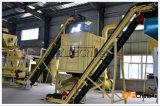 Linha de produção especializada da pelota da biomassa