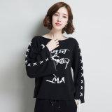 女性の新しい方法ニットウェアのプルオーバーのセーター