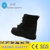 La nuova sicurezza alla moda del cuoio genuino caric il sistemaare le calzature di sicurezza con la punta d'acciaio
