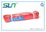 Imbracatura rotonda infinita di colore rosso 5t*4m con Ce/GS