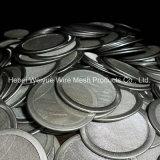 En acier inoxydable disque filtrant en treillis métallique tissée