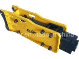 Tipo aperto interruttore idraulico della parte superiore del diametro 75mm dello scalpello Sb43 della roccia per l'escavatore 6-9ton