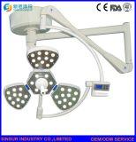 Tipo lámpara del pétalo del funcionamiento del instrumento quirúrgico LED del techo de la pista del doble