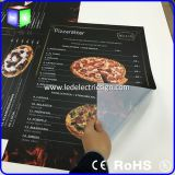 Pizza Thin Magnetic LED Publicidade Light Box