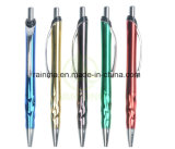 UV 끝마무리 사무실 중국에서 선전용 알루미늄 볼펜 문구용품 도매