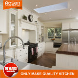 Diseño en blanco Latina Style muebles de madera maciza de gabinetes de cocina