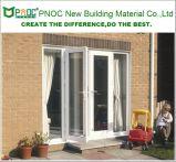 外部の建築材料のアルミニウムプロフィールの開き窓のドア中国製