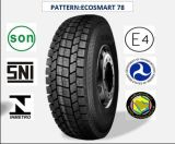 Tous les pneus radiaux en acier de camion et de bus avec le certificat 275/80r22.5 (ECOSMART 62 ECOSMART 78) de CEE