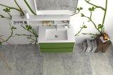Vanità di superficie solida del Governo di stanza da bagno della mobilia di marmo fissata al muro della stanza da bagno