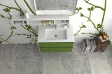 Установленная стеной тщета шкафа ванной комнаты мраморный мебели ванной комнаты твердая поверхностная