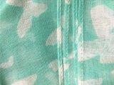 Nouveau Style 100%COTON Voile papillon long foulard de mode d'impression