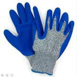 Перчатки безопасности перчаток работая перчатки хлопка перчаток перчаток поставленные точки PVC, Nylon перчатки заварки кожаный перчаток перчаток PVC перчаток нитрила