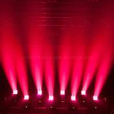 Mini RGBW testa mobile dello zoom 4X10W LED del DJ per la fase