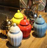 Kies de Verglaasde Ceramische Bus van de Pompoen uit (lj-130)