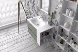 Marmorbadezimmer-Schrank-Eitelkeits-feste Oberflächenbadezimmer-Möbel