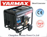 Yarmax lärmarme preiswerte Luft abgekühltes Dieselmotor-geöffneter Rahmen-Dieselgenerator-Set Genset Ym9500eb-I
