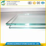 La Chine fabrication 12mm Low-Iron ultra large en verre trempé