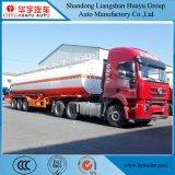 45000L de Benzine van het Koolstofstaal/Diesel/Olie/Brandstof/de Brandbare Vloeibare Semi Aanhangwagen van de Tank