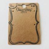 Materiales de papel cartón a la moda de la etiqueta de marca con Logo