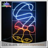 Luz comercial ao ar livre da decoração da rua do Natal do diodo emissor de luz do feriado