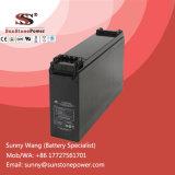 batterie profonde de gel de cycle de système de télécommunication terminal avant de 12V 180ah