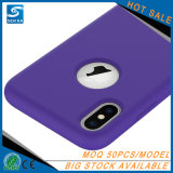 Cas liquide de téléphone cellulaire pour la note 8 de galaxie de Samsung
