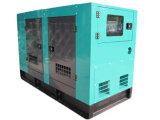 無声ディーゼル発電機はContollerの情報処理機能をもったパネルとセットした