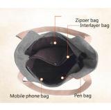 2018 Sacos de lona de bolsas das mulheres e de forma portátil Lady Bag Sacos de ombro