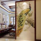 L'art fait sur commande en gros de la Chine décrit le guichet en verre souillé en verre