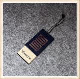 Swing tag Étiquette de papier du vêtement, de la Chine de l'habillement Hang Tag
