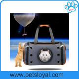 Mayorista de la fábrica de PET de alta calidad perro gato portador de viajes