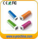 Beste Geschenk-Form-runde Lippenstift-Energien-Bank für freie Probe