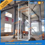 Rail de guidage hydraulique de levage électrique de l'entrepôt de marchandises de relevage de la cargaison ascenseur