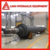 Tipo regulado personalizado cilindro hidráulico do petróleo para o projeto da tutela da água