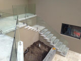 Stainless Steel Post를 가진 Frameless Glass Balustrades System