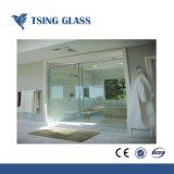 Claro ducha de vidrio templado de 8-12 mm